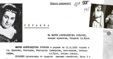 ДС-Русе срещу оперната прима Мария Бохачек